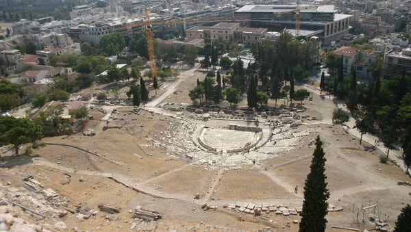 Древний театр Диониса в Афинах