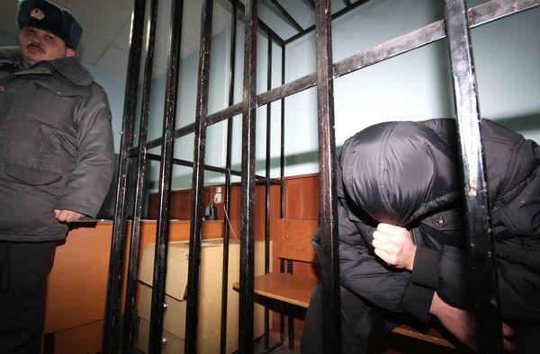 Рассмотрение вопроса об аресте милиционера Анвара Ибрагимова, подозреваемого в убийстве уроженца Абхазии на юго-востоке Москвы