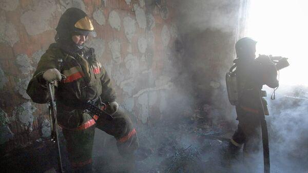 СРОЧНО Пять человек пострадали при пожаре в гостинице Звездного городка в Подмосковье