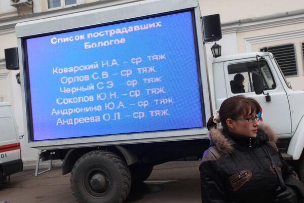 ОАО РЖД обнародовало список пассажиров Невского экспресса