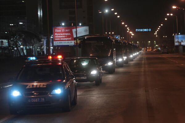 Тела погибших в результате подрыва Невского экспресса привезли в Санкт-Петербург