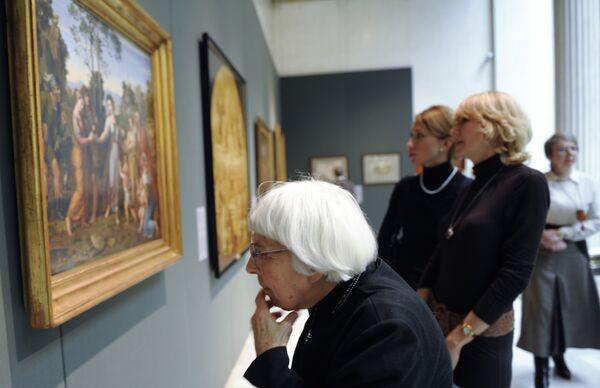 На выставке Лики истории в европейском искусстве XIX века