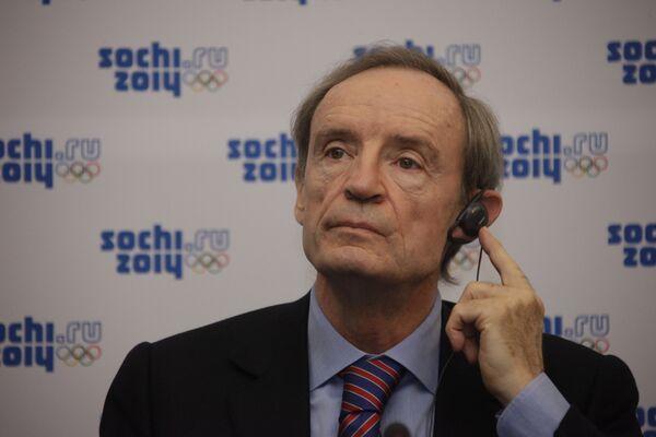 Председатель Координационной комиссии МОК Жан-Клод Килли