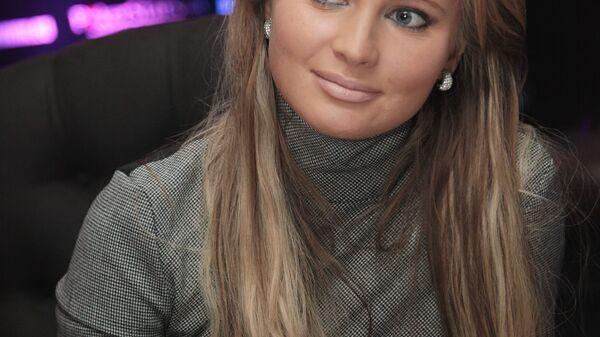 Телеведущая Дана Борисова