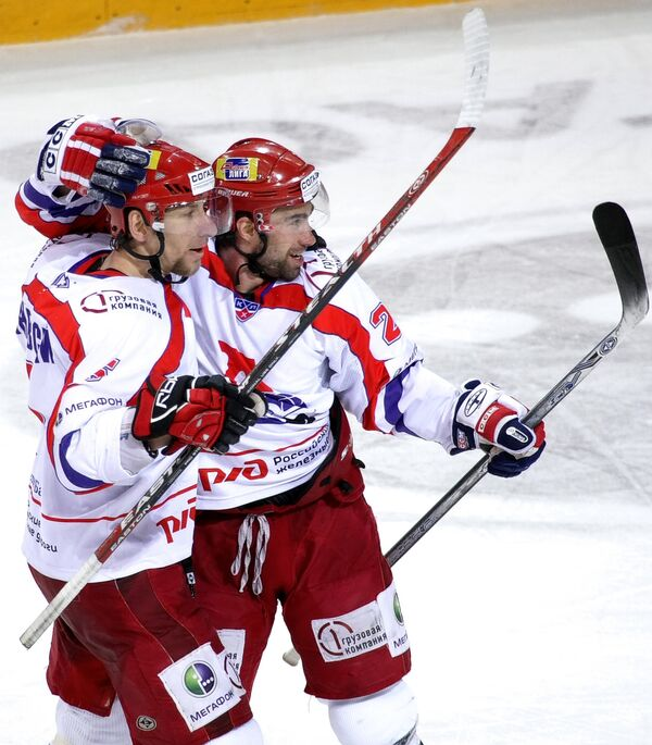 Хоккеисты Локомотива. Архив