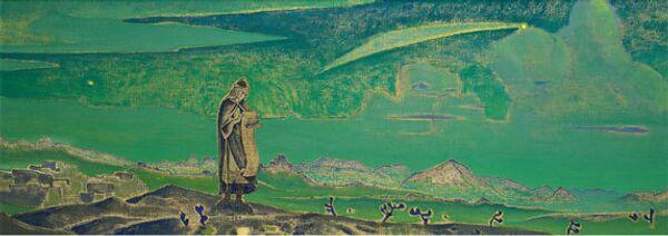 Картина Рериха Легенда ушла с молотка почти за миллион фунтов на аукционе Christie's
