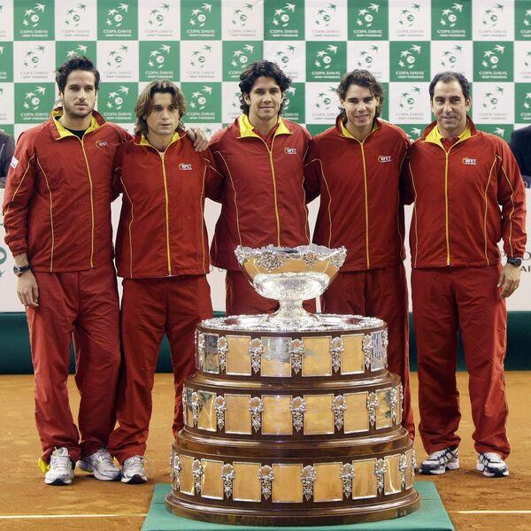 Сборная Испании по теннису