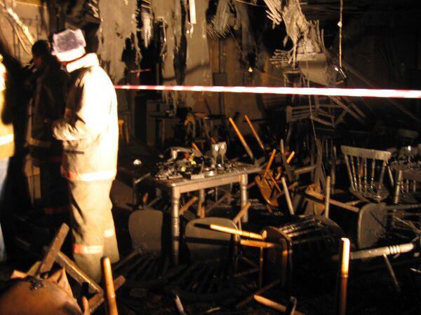 Пожар в пермском ночном клубе Хромая лошадь