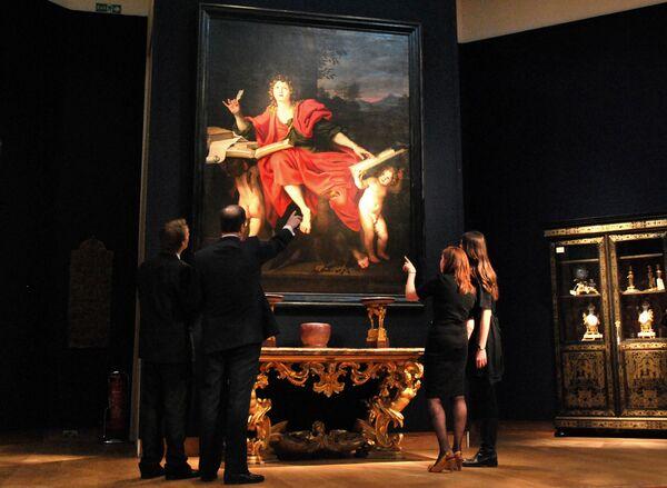 Полотна старых мастеров на аукционах в Лондоне