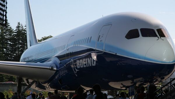 Боинг-787 Dreamliner . Архив