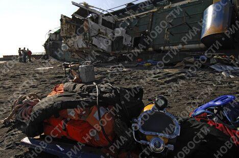 Последствия 7-балльного шторма в Сочи
