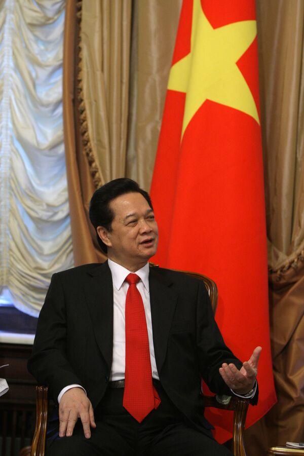 Глава правительства Вьетнама Нгуен Тан Зунг