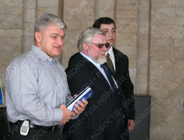 Турчинский, Дикуль, Халаджи на пресс-конференции