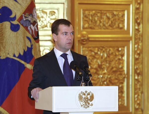 Медведев о достижениях в экономике: поддержка предприятий, низкая инфляция, рост пенсий