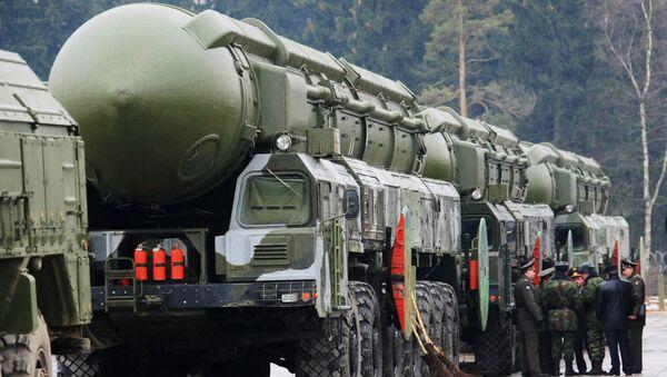 Ракетный комплекс стратегического назначения Тополь