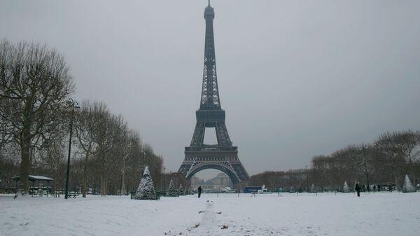 Зимний Париж