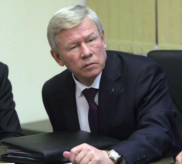 Глава Федерального космического агентства Анатолий Перминов. Архив