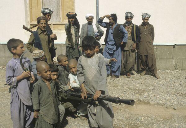 Жители Демократической Республики Афганистан