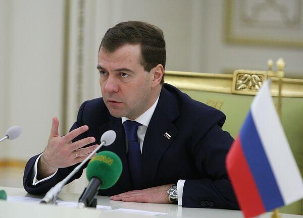 Власти будут бороться с басманным правосудием - Медведев