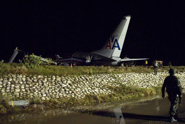 Крушение самолета America Airlines на Ямайке