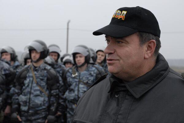 Генерал-лейтенант милиции Владимир Горшуков