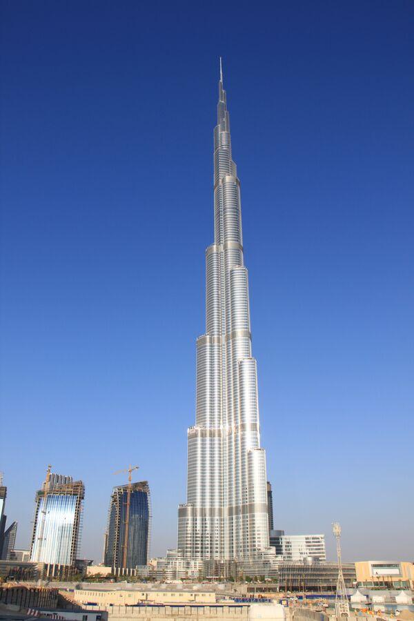 Бурдж Дубай (Дубайская башня) - самое высокое здание в мире