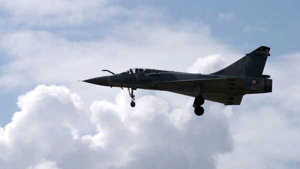 Французский истребитель Мираж-200. Архивное фото