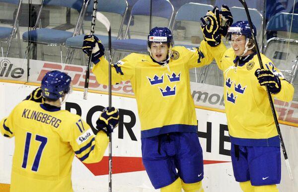 Молодежная сборная Швеции по хоккею