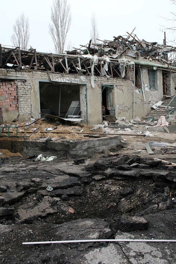 На месте теракта в Махачкале