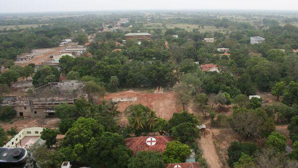 Город Килиноччи на Шри-Ланке. Архивное фото