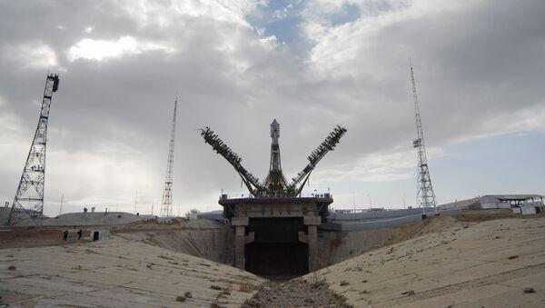 Подготовка к запуску Союза со спутником Galileo. Архивное фото