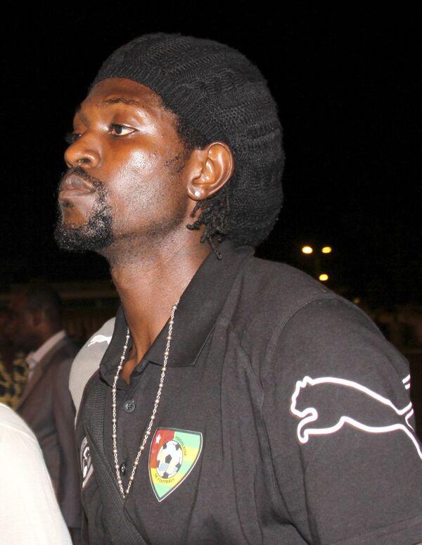 Капитан сборной Того по футболу Эммануэль Адебайор