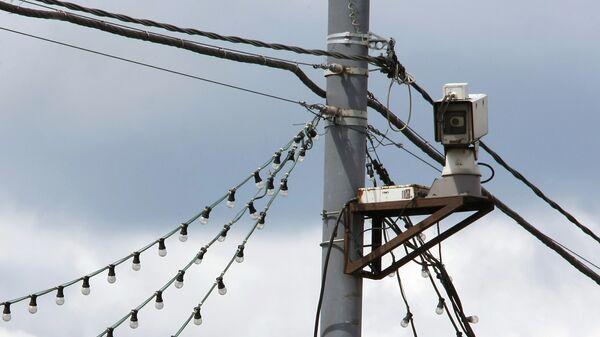 Камера слежения. Архивное фото