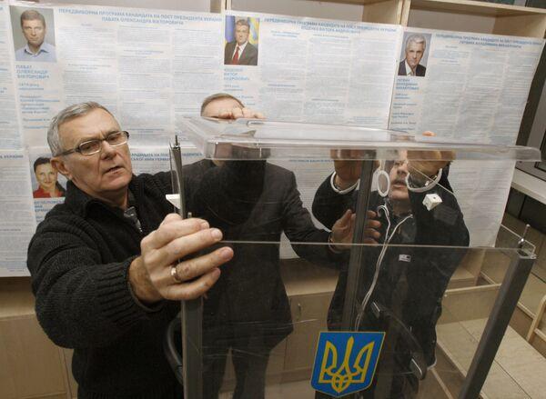 Подготовка к выборам президента на Украине