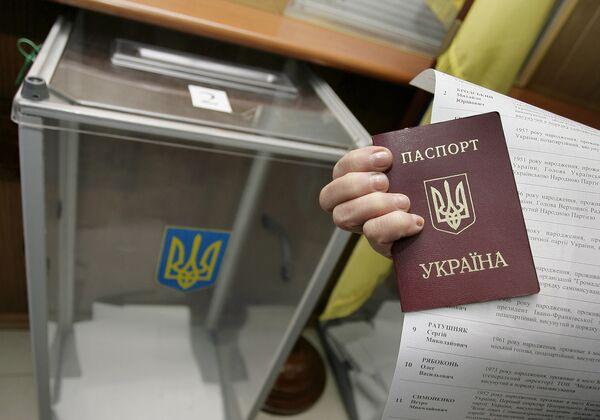 Более 700 человек проголосовали на выборах президента Украины в Берлине