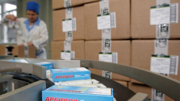 Упаковка лекарственных препаратов. Архивное фото