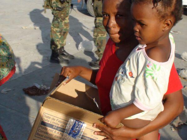 Ситуация на Гаити после землетрясения. Архив