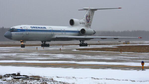 Ту-154 авиакомпании Оренбургские авиалинии