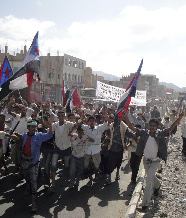 Антиправительственные митинги прошли на юге Йемена.