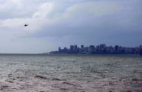Поиски выживших после крушения самолета компании Ethiopian Airlines недалеко от аэропорта Бейрута
