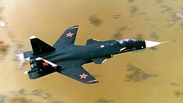 Истребитель СУ-47 Беркут - экспериментальная летающая лаборатория. Архив