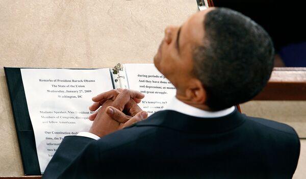 Президент США применил свое самое сильное оружие - действительно незаурядное литературное и ораторское искусство
