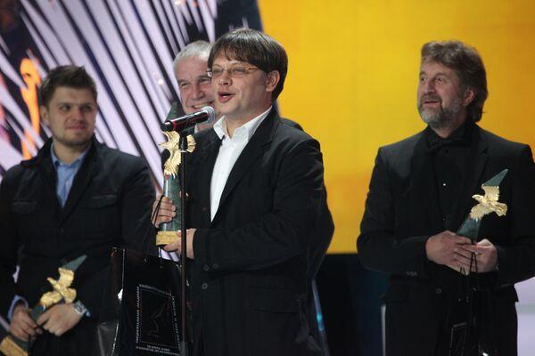 Валерий Тодоровский на церемонии награждения премии Золотой орел