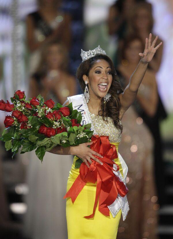 Представительница Виргинии Каресса Кэмерон завоевала титул Мисс Америка-2010
