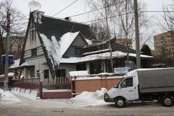 Поселок Сокол на севере Москвы