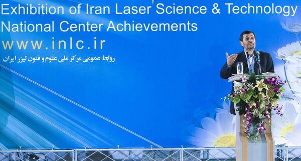 Президент Ирана Махмуд Ахмадинежад в Тегеране