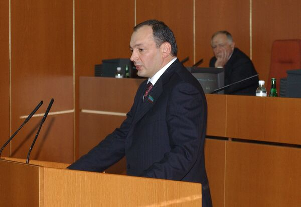 Президент республики Дагестан Магомедсалам Магомедов. Архив