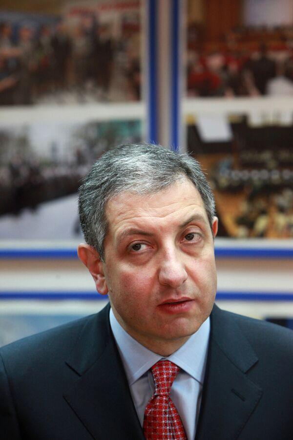 Лидер партии Движение за справедливую Грузию Зураб Ногаидели. Архив