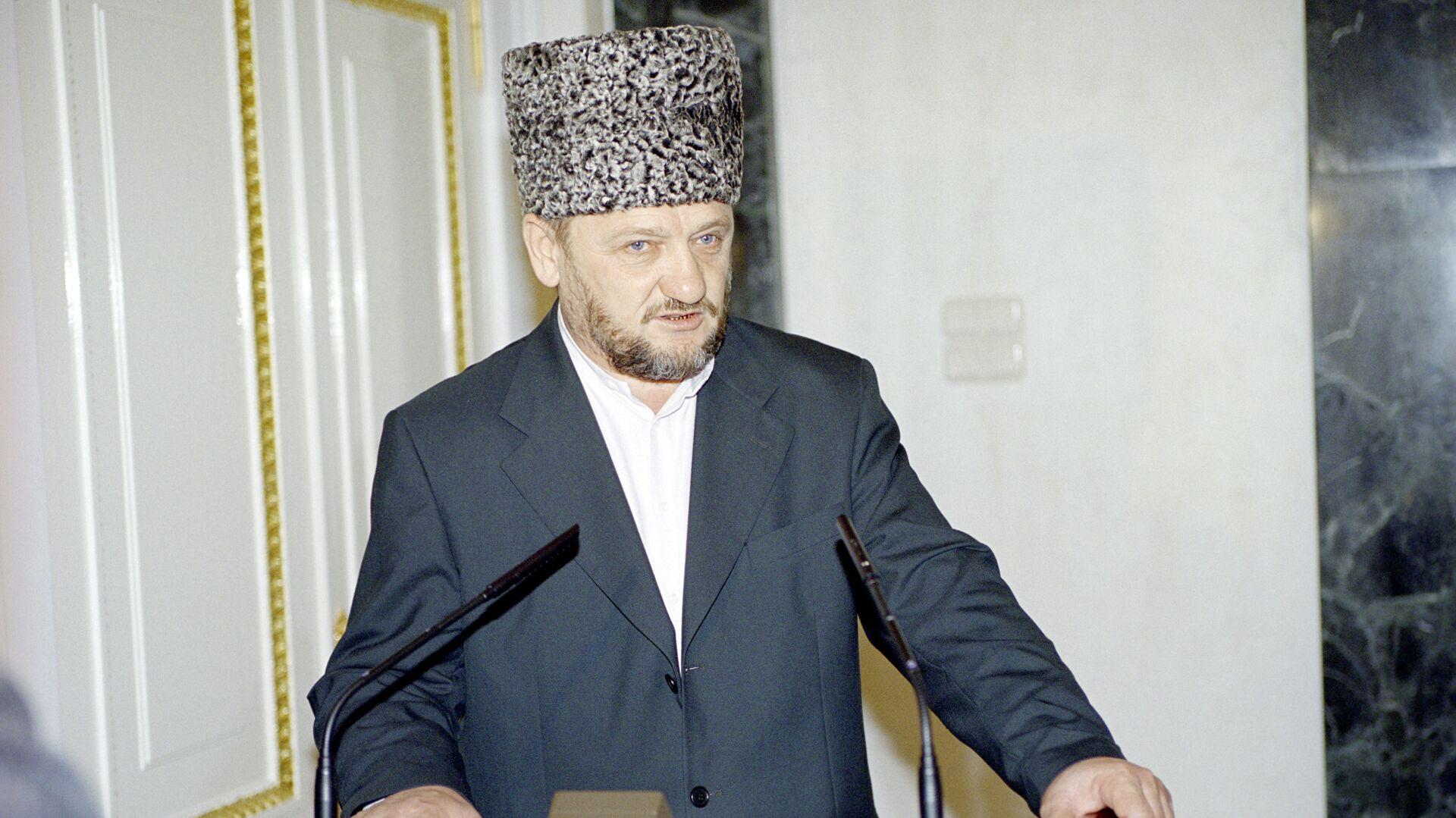 Глава администрации Чечни Ахмат Кадыров. Архив - РИА Новости, 1920, 23.08.2016
