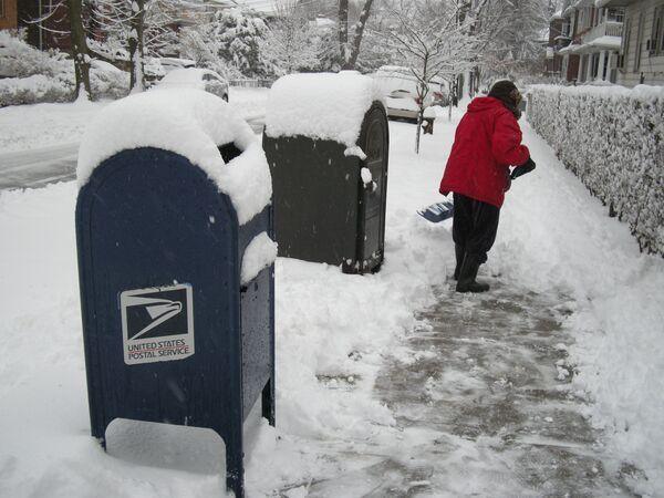 Снегопад в Нью-Йорке 10-11 февраля 2010 года